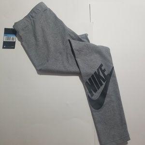 Nike medium gray leggings
